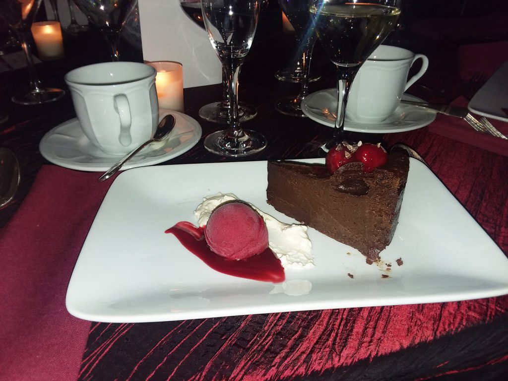 Stony Brook Gala Chocolate Fudge Dessert